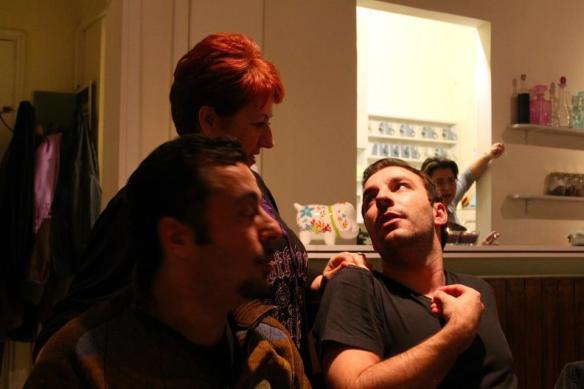 ΚΩΝ. ΡΑΒΝΙΩΤΟΠΟΥΛΟΣ  - Γ. ΧΑΤΖΗΠΑΥΛΟΥ  παρέα με τους ανθρώπους του stand up comedy στην ΠΟΛΙΤΕΙΑ